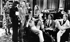 """STAGE DOOR, 1937 An ensemble masterpiece starring Katharine Hepburn, Ginger Rogers, Lucille Ball, Eve Arden, Ann Miller and more as a bunch of tough, snarky broads in a New York theatrical boarding house. The fizzing dialogue, much of it improvised, is loaded with more wisecracks than an Aaron Sorkin script. These women literally never shut up, which led The Times' rave review to pronounce Stage Door """"rowdy and aggressive"""". Also opens with a catfight over a pair of stockings: what's not to…"""
