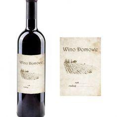 Etykiety samoprzylepne na wino 10 sztuk wzór 4 - Malinowy Nos - Sprzęt i akcesoria do produkcji alkoholi