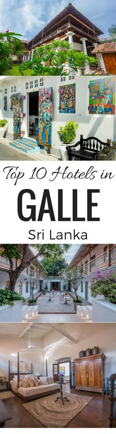 Some of the most amazing Hotels in Galle Sri Lanka