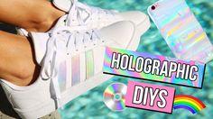 HOLOGRAPHIC DIYS YOU NEED!