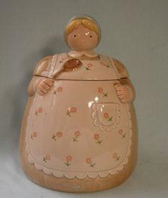 Vintage Farmers Wife Cookie Jar Otagiri Japan by neyneystreasures, $30.00