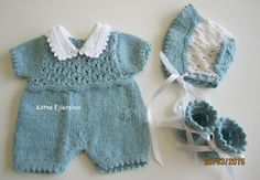 Projekt Saseline ~ Det er midt i april 2020 Doll Clothes, Babies Clothes, Baby Born, Southern Belle, Baby Dolls, Rompers, Knitting, Mini, Crochet