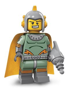 Retro Space Hero is a Minifigures Series 17 released in Notes His blaster piece is new., His head piece is new. Lego Pictures, Lego Pics, Space Hero, Lego Minifigs, Disney Princess Dresses, Legoland, Legos, Darth Vader, Superhero