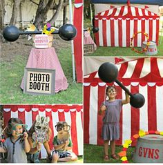 Instead of using the photo booths reused props buy carnival themed props