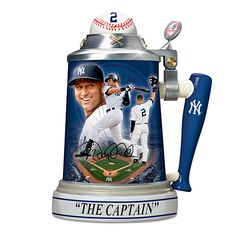 Derek Jeter Career Celebration Stein