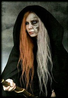 In ancient Slav mythology, Morana is the goddess of night, winter and death. In ancient Sla. Chris Martin, Mythology Costumes, Hel Goddess, Wicca, Death God, Goddess Costume, Creatures Of The Night, Norse Mythology, Gods And Goddesses