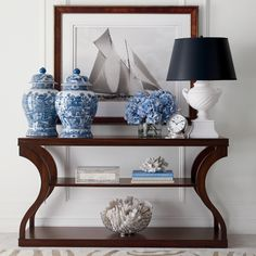 Ethan Allen: All elements from the store. Donatella Entryway