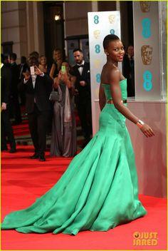 Lupita Nyong'o - BAFTAs 2014 Red Carpet | lupita nyongo 2014 baftas red carpet 05 - Photo