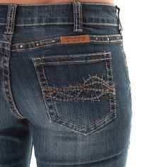 Cowgirl Tuff Women's Triple LLL Boot Cut Jeans