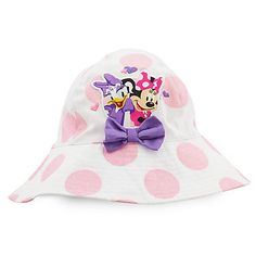 Minnie Mouse and Daisy Duck Swim Hat for Kids - Personalizable
