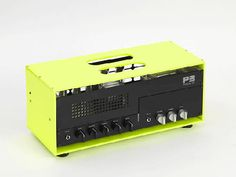 P3 guitar amplifiers  http://design-milk.com/p3-guitar-amplifiers/