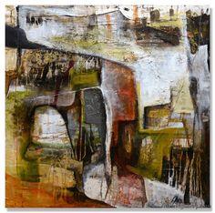 "Jennifer Bobola | ""Abandoned Overtones"" | Oil, 36x36"""
