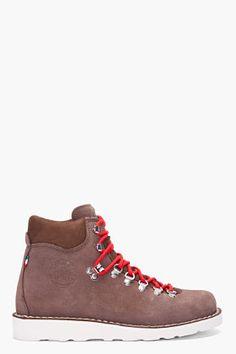 Diemme Dark Brown Suede Roccia Vet Boots for men | SSENSE