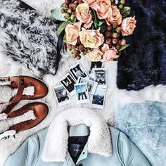 Set up your outfit flat lays on the floor, on a large piece of cardboard, or a photogenic rug - if you've got one handy. | 16 Life-Changing Instagram Tips From Fashion Blogger Margaret Zhang