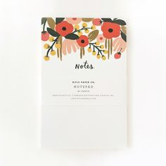 Hanging Garden Notepad 2 Pack by Anna Bond of Rifle Paper Co.