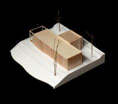 Galería de Ermita Guadalupe / S-AR + Comunidad Vivex - 21 Conceptual Architecture, Architecture Models, Site Model, Arch Model, Model Building, Scale Models, Glamping, Post Office, Small Space