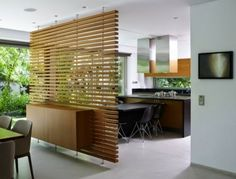 Great Designs From The Room Divider Made Of Wood!