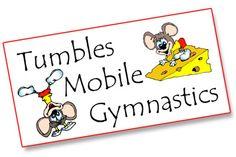 Tumbles Mobile Gymnastics Logo - Freelance Graphic & Web Design
