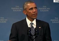 As Republicans Attack Obama's Foreign Policy, the American Legion Cheers The President