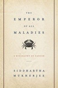 Emperor of all Maladies - Siddhartha Mukherjee - Fascinating book about the history of cancer, and the fight against it.  Extremely comprehensive.  I must admit some of it was tough going, what with all the medical jargon, but in my opinion well worth the read.
