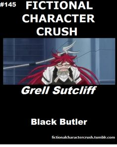 Fictional Character Crush (Search results for: Black Butler)