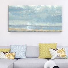 Dana McMillan 'Morning Break' Canvas Wall Art (24 x 48) | Overstock.com Shopping - The Best Deals on Gallery Wrapped Canvas