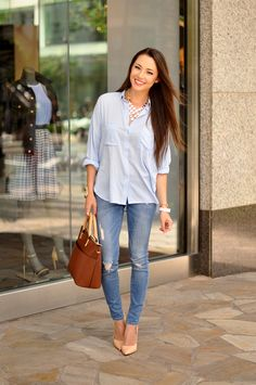 Clean and Crisp denim and chambray