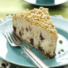 Peanut Butter Cheesecake Recipe from Taste of Home -- shared by Lois Brooks of Newark, Delaware