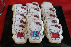 Hello Kitty Themed Birthday Party | CatchMyParty.com