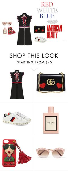 """""""Untitled #63"""" by palak-obhan ❤ liked on Polyvore featuring Gucci"""