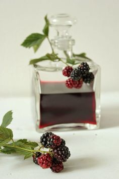 Brombeer-Likör bei Sweets and Lifestyle