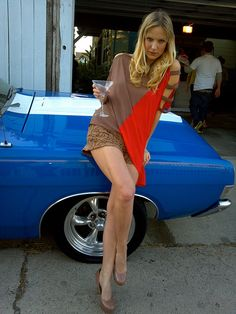 69 Ford Grand Torino, Venice Beach by Real TV Films, via Flickr