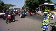 Cegah Massa ke Jakarta, Polisi Perketat Pengamanan di Jalur Pantura