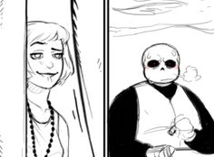 What procrastination looks like for a comicbook artist. ( I got myself stuck on these two panels for hours. ) With a couple of doodles on the side, including myself abusing my powers. Undertale Ships, Undertale Cute, Undertale Fanart, Undertale Comic, Mafia, Frans Undertale, Sans Art, Undertale Drawings, Sans X Frisk