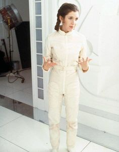 "Leia --- this is dying for a ""caption this!"""