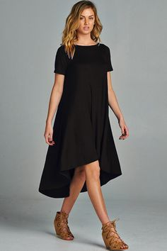 Claire Dress in Black | Women's Clothes, Casual Dresses, Fashion Earrings & Accessories | Emma Stine Limited