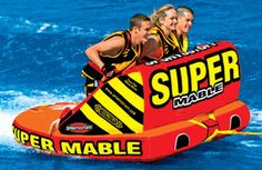 sportsstuff super mable boat tube  skidiscounters.com