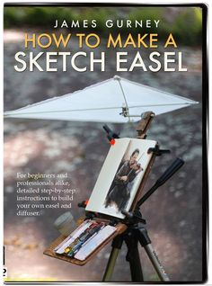 Last month after sharing my own lightweight sketch easel design, I put out a call to all you Do-It-Yourselfers to share your home-built sk. Plein Air Easel, Diy Easel, Pochade Box, Sketch Box, Watercolor Kit, Watercolor Paintings, Artist Supplies, Art Storage, 3d Max