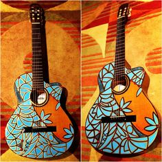 Guitar Art. #guitar #art #guitarart http://www.guitarandmusicinstitute.com