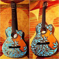 Guitar Art. #guitar #art #guitarart
