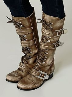 Free People Kantell Lace Up Boot...o...m...g...I'm in love