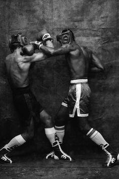 Boxe, fotografia de Bob Wolfenson na Fotospot