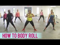How To Body Roll (Dance Fitness with Jessica) - YouTube