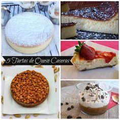 5 tartas de queso caseras