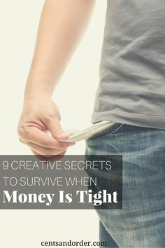 When you are broke or find that money is tight for the month, you might feel frustrated and overwhelmed. If you are living paycheck to paycheck, these nine ideas will help you get past this tough time in your life.