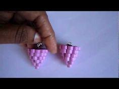 Handmade Jewelry - Paper Quilling Chandelier Earrings