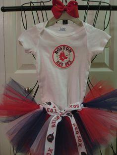 Boston Red Sox Tutu