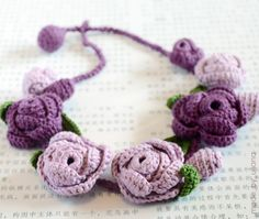 Crochet: Rose with a core (Master Class) - maomao - I heart action