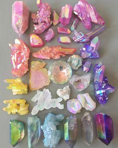 "cosmicdreamclub: "" Another aura crystal rainbow """
