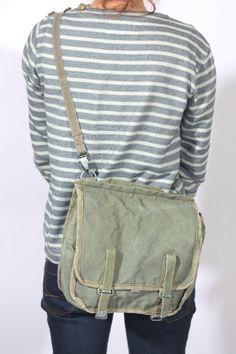 Canvas Messenger Bag, Distressed Bag, Military Bag, Army Crossbody Bag,  Khaki Shoulder Bag, Army Bag, Women Satchel Bag, Military Surplus 7d96d2604a